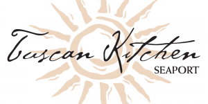 Tuscan Kitchen Seaport Boston MA restaurant logo, a client of Avery Restaurant Consulting