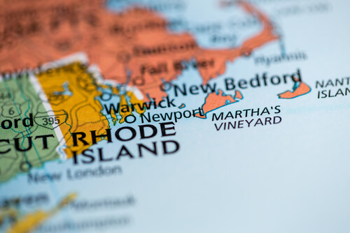 Rhode Island map for restaurant consulting business