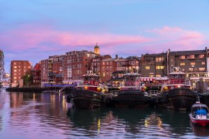 Portsmouth, New Hampshire Water and Boats