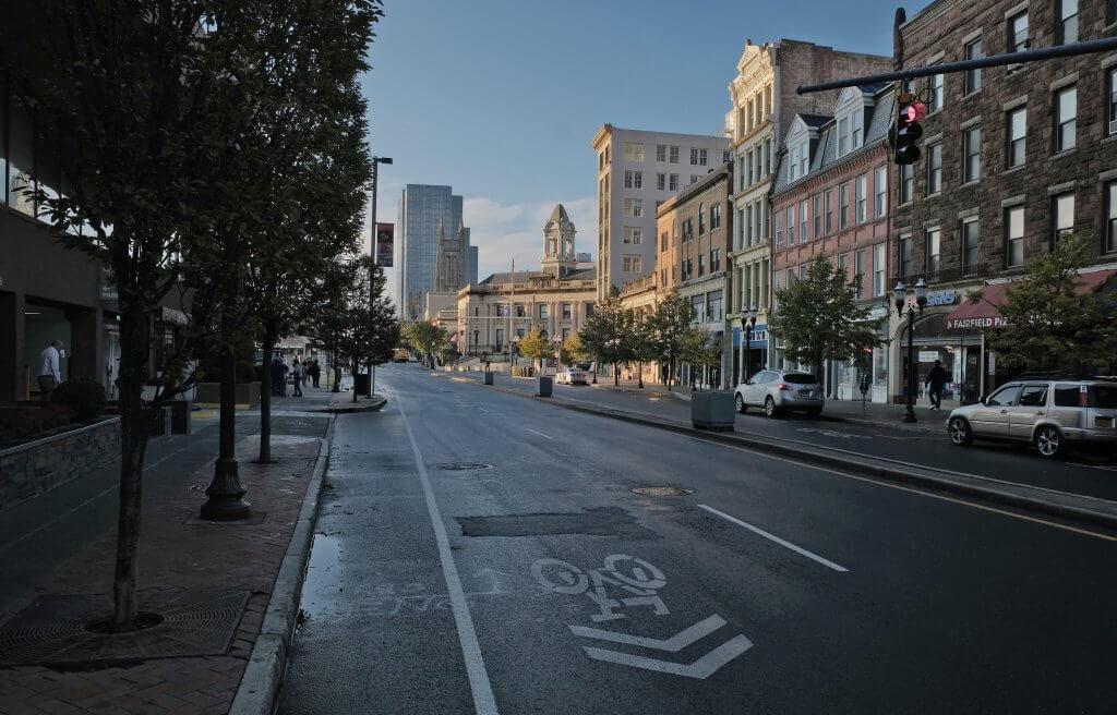 downtown Stamford